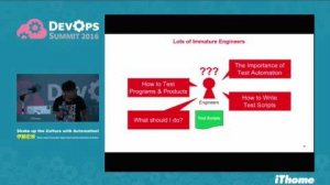 Embedded thumbnail for DevOps Summit 2016 - Shake up the Culture with Automation!
