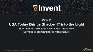 Embedded thumbnail for AWS re:Invent 2015 | (DVO314) USA Today Uses Chef & AWS for Infrastructure Standardization