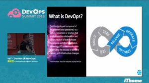 Embedded thumbnail for DevOps Summit 2016 - IoT、Docker 與 DevOps